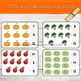 1-20 Fruits and Vegetables Themed Counting Clipcards Activity