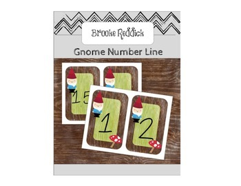 1-20 Gnome Number Line