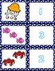 1-20 Matching Ocean Cards ~ 1:1 Correspondence, Subitize, Numeral Recognition