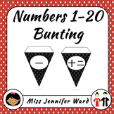 1-20 Number Bunting in Japanese