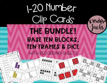 1-20 Number Clip Cards **THE BUNDLE!**
