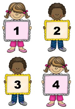 1-20 Number Consolidation/Recognition-Ten Frames, Words, Number, Tally's