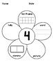 1-20 Number Flowers Differentiated