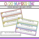 1-20 Number Line