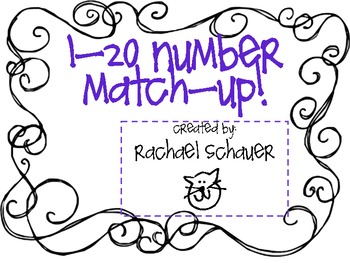 1-20 Number Match-Up!