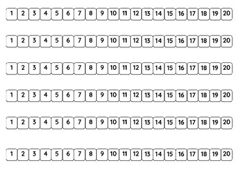 1-20 Number Path