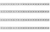 1-20 Number Path - No Color Change