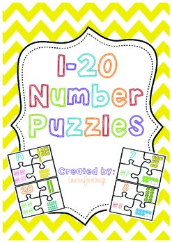 1 - 20 Number Puzzles
