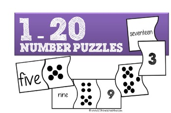 1-20 Number Puzzles