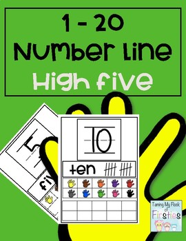1-20 Number Train High Five