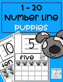 1-20 Number Train Puppies