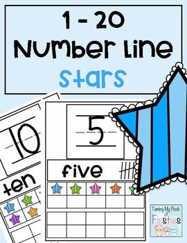 1-20 Number Train Stars