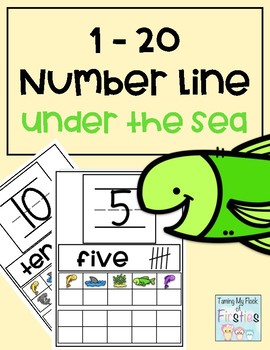 1-20 Number Train Under the Sea