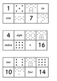 1-20 Number Triad Bingo
