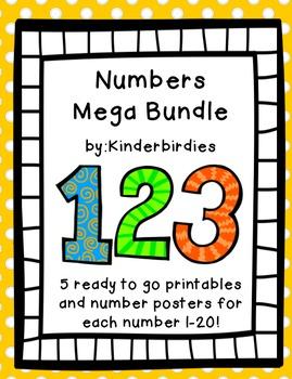 1-20 Numbers Mega Bundle