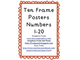 1-20 Ten Frame Posters