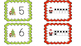 1-20 Ten Frame matching (Christmas themed)