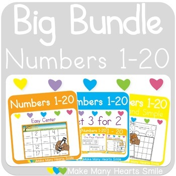 Spring Numbers 1-20 Teaching Resources | Teachers Pay Teachers