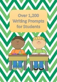 1,200 Writing Prompts for Students