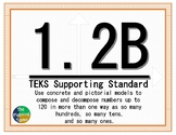 1.2B TEKS: Compose and Decompose Math Task Cards