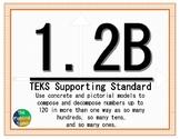 1.2B TEKS: Compose and Decompose Math Task Cards