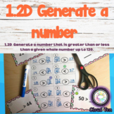 1.2D Generate a number