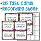 Order Whole Numbers up to 120 Task Cards Math Center
