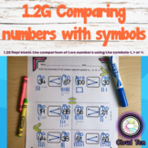 1.2G Comparing numbers with symbols