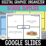 Google Slides Vocabulary Graphic Organizer Spanish School