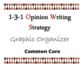 1-3-1- Opinion Writing Strategy Graphic Organizer