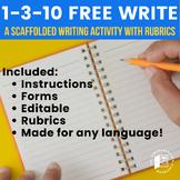 Writing Activity: 1-3-10 Free Write