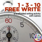 Writing Activity: 1-3-10 Free Write