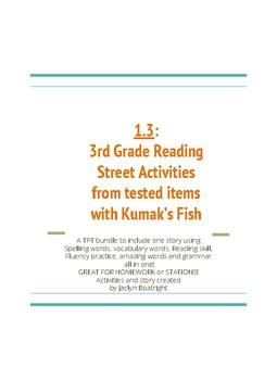 1.3  3rd Grade Reading Street Activities for Kumak's Fish