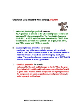 1-3-5 Quarter 1 Week 3 Day 5 answers