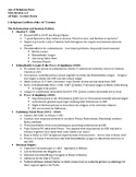 1.3 Age of Religious War - Lecture Notes
