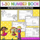 1-30 Number Book