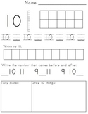 1-30 Number Book Eng/Span