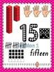 0-30 Number Representation Posters