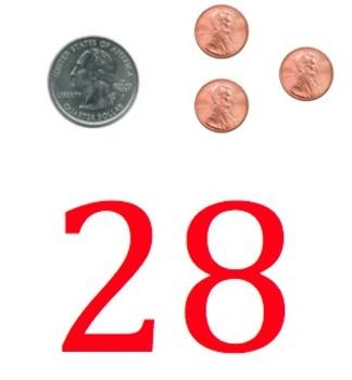 1-300 Even/Odd/Money Number Line