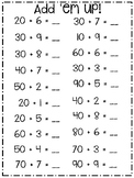 1.3A  a Sum of a Multiple of 10 up to 99 Worksheets