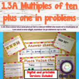 1.3A Multiples of ten plus one-digit in problems