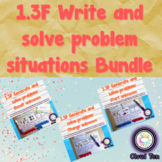 1.3F Generate & solve problem situations