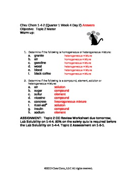 1-4-2 Quarter 1 Week 4 Day 2 answers