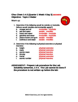 1-4-3 Quarter 1 Week 4 Day 3 answers