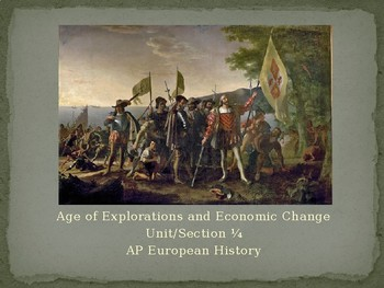 1.4 Age of Exploration and Economic Change - Presentation