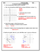 Translations in the Coordinate Plane Editable Word Document