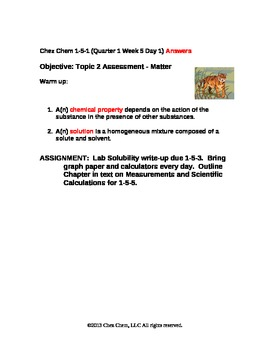 1-5-1 Quarter 1 Week 5 Day 1 answers