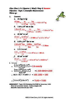 1-5-4 Quarter 1 Week 5 Day 4 answers