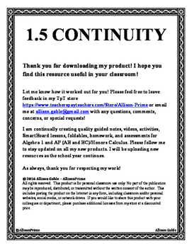 1.5 Continuity