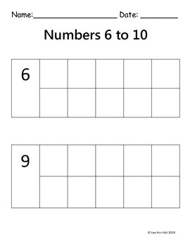 1 - 10 Counters